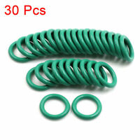 30pcs Green Universal FKM O-Ring Seal Gasket Washer for Car 22mm x 3.5mm