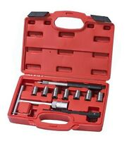 10pc Diesel Injector Seat Cutter Cleaner Universal Injector Re-Face Reamer