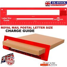 Royal Mail Letter Size Guide PPI Post Office Postal Price Postage Template Ruler