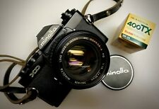 Minolta XD w/ Minolta Rokkor-X PG 50mm f/1.4 Lens