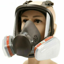 15 in 1 Full Face Gas Mask Facepiece Respirator For 6800 Gas Painting Spraying