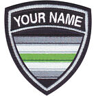 Agender LGBTQ Personalized Crest Embroidered Patch