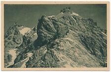 Ansichtskarte vom Westgrat der Zugspitze