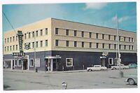 Postcard MO Glendive Montana Hotel Jordan, Air Conditioning, Cocktail Lounge C17