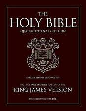 King James Bible: 400th Anniversary Edition by Oxford University Press (Leather / fine binding, 2010)