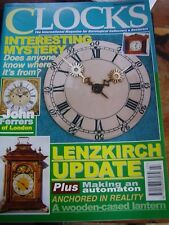 CLOCKS MAGAZINE - MARCH 2003 LENZKIRCH JOHN FERRERS OF LONDON GEORGE GREEN