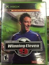 World Soccer Winning Eleven 9 (Microsoft Xbox, 2006) Original Factory Sealed