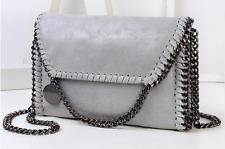 Stella McCartney Falabella Style Grey Handbag Chain Shoulder Crossbody Bag New