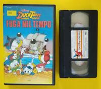 VHS FILM Ita Animazione Walt Disney DUCK TALES Fuga Nel Tempo no dvd cd lp (V42)