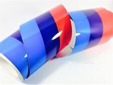 150mm Decorative Tape Decal Vinyl BMW M Tech POWER DIY Sticker Stripe 3-Colored