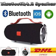 Tragbarer Bluetooth Lautsprecher Soundbox Musikbox SD USB für Android IOS Handy