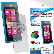 4 Filme Matt Für Nokia Lumia 800 Anti-glanz Anti-fingerabdruck Schutzfilm