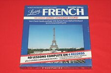 Living French Language Course on 4 Record Albums Brand New Sealed