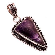 Collares y colgantes de joyería con gemas amatista