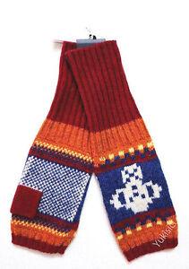 Vivienne Westwood Japan Fingerless Long Gloves Arm Warmers Wool Blend Knit-A/B/C
