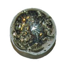 3 auch Apachengold Pyrit Trommelstein Handschmeichler flach ca Chalkopyrit ugs