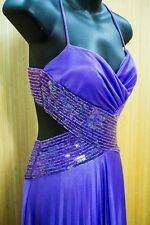 Masquerade Dress Formal Prom Cocktail Party Ball Gown Evening Bridesmaid Sz 1/2