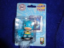 "BATMAN - DC Comics Little Mates Figurine + Sticker Super Heroes ""NEW"" Sealed"