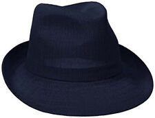 Kangol Hat Classic Kangol Hiro Trilby Fedora Color  Navy size Med-Summer Style