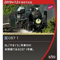 KATO N Gauge C57 1 2024-1 JNR Steam Locomotive Type C57 1 w/ Tracking NEW