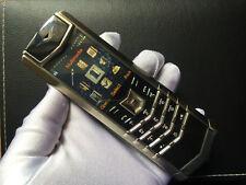 Luxury 3Vertu Signature S K7+ SILVER Black Unlocked RM-266V 2G GSM Mobile Phone