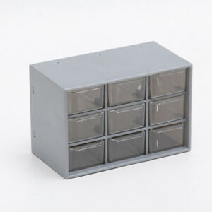 9 Grids Drawer Stationery Jewelry Storage Makeup Organizer Beads Earrings Box