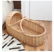 D99 Baby Moses Basket Bassinet Waffle Bedding 100CM
