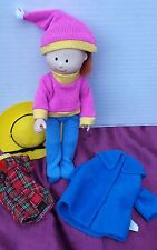 Madeline Doll Outfit School Uniform Dress Ski Winter Yellow Hat Coat Original