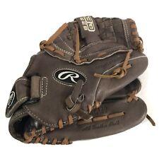 "New listing Rawlings Baseball Glove RHT FP125 Fastpitch Softball 12.5"" Woman's All Leather"