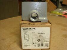 Killark Swb 4 Device Box 12 Feed Thru Hub 1 Gang Copper Free Aluminum 5 78