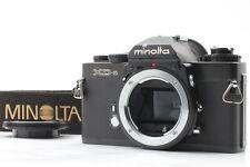 [Near Mint+] Minolta XD-S Body Black 35mm SLR Film Camera From Japan 141