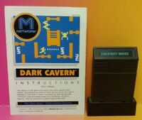 Atari 2600 Dark Cavern Game & Instruction Manual Tested Works Rare