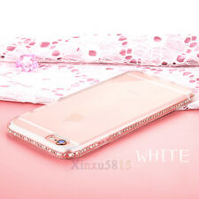 Luxury Bling Glitter Soft Diamond TPU Case Cover For Apple iPhone X 5 6 7 8 Plus