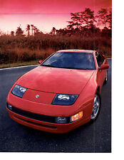 1989 DATSUN 300ZX  -  NICE ORIGINAL 8-PAGE ARTICLE / AD
