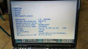 Thinkpad X61s with T7500 1.60GHz C2D 4GB RAM - New HDD - 320GB HD Win 7 Pro