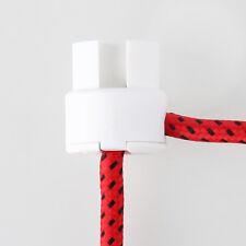 Lampen Deckenverteiler Distanz-Aufhänger Umlenkung  Affenschaukel weiß