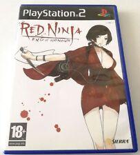 RED NINJA END OF HONOUR GIOCO ITA PS2 PLAYSTATION 2 SPED GRATIS SU + ACQUISTI