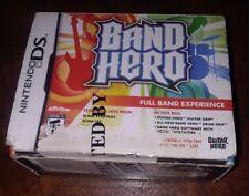 "Nintendo DS Band Hero  ""Full Band Experience"""