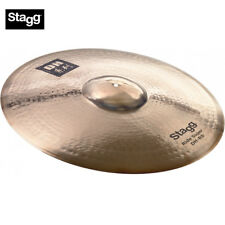 "New Stagg Dh-Rs30B 30"" Dual Hammered Dh Brilliant Super Ride Cymbal"