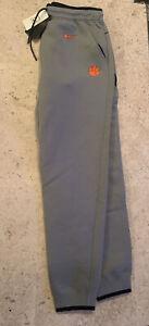 Nike Clemson Tigers Football Training Travel Pant Men's Medium Grey AO5857-063