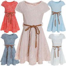 Markenlose Größe 104 Mädchenkleider aus Baumwollmischung