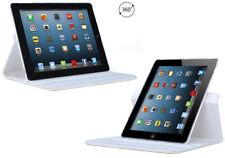 Tenergy 360 degree Rotating Leather Case White for Apple iPad 2 / iPad 3 / iPad