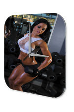 Reloj De Pared Pin Up Art Adulto  Gimnasio Acrylglas
