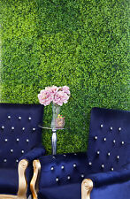 GREEN HEDGE ARTIFICIAL FLOWER WALL PANEL 50CM X 50CM WEDDING BACKDROP DECOR