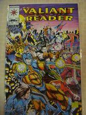 The Valiant Reader comic 1 Near Mint valiant Comics Near Mint NM Bloodshot Turok