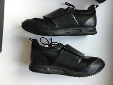 Yohji Yamamoto Y-3 Black Sneakers with Pony Trim - 100% Authentic