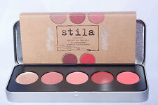 Stila Color Me Pretty Palette 5 Lip and Cheek Creams Kitten Peony Rose Petunia