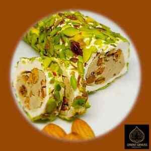 3,38€/100g Lokum Turkish Delight Pistazien und Mandelcreme 500 g