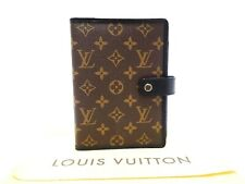 Louis Vuitton Monogram Macassar Agenda Mm Day Planner Cover Diary R21084