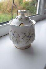Royal Albert Caroline Jam Pot Bone China 2nd Quality Rare